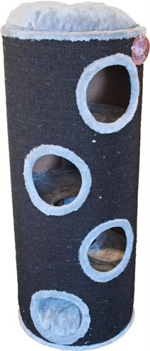 Krabton sisal 4-gaats zwart / grijs