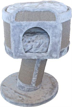 Krabton op voet 1-gaats grijs